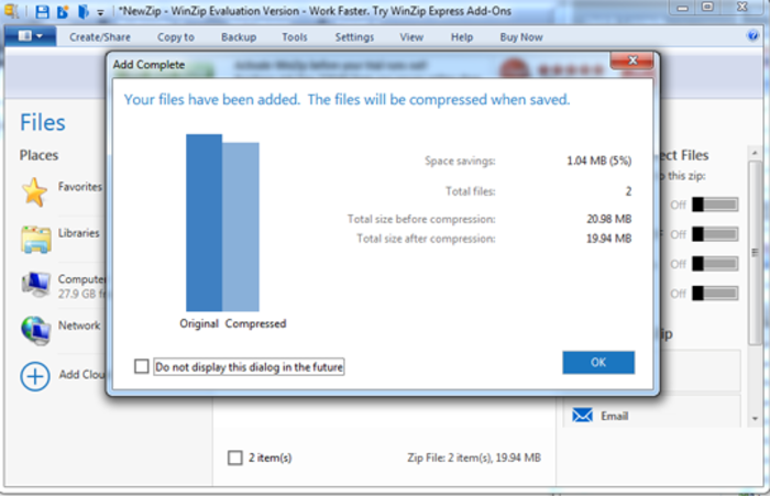 Screenshot 2 of WinZip