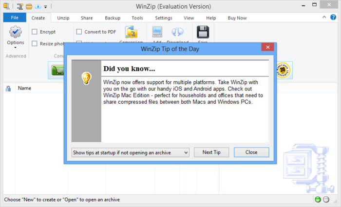 Screenshot 9 of WinZip