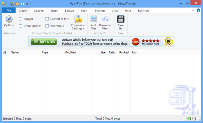 Screenshot 1 of WinZip
