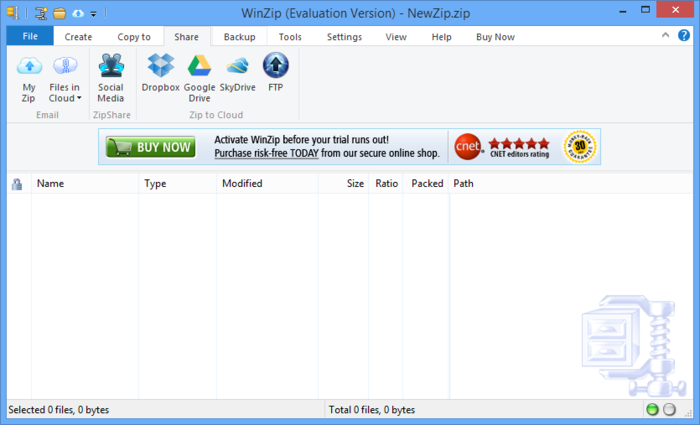 Screenshot 5 of WinZip