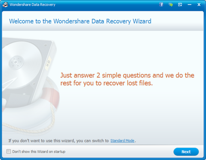 Screenshot 5 of Wondershare Data Recovery