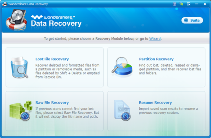 Screenshot 6 of Wondershare Data Recovery
