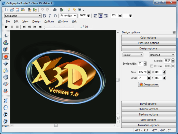 Download Xara 3D Maker free — NetworkIce com