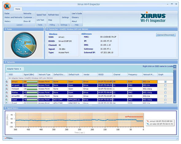 Screenshot 7 of Xirrus Wi-Fi Inspector