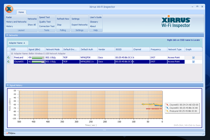 Screenshot 6 of Xirrus Wi-Fi Inspector