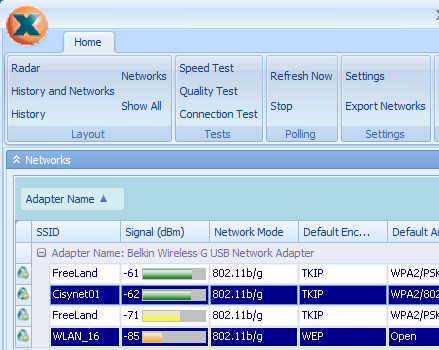 Screenshot 3 of Xirrus Wi-Fi Inspector