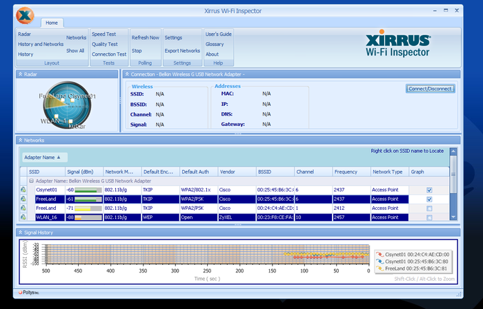 Screenshot 5 of Xirrus Wi-Fi Inspector