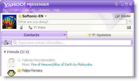 Download Yahoo! Messenger free — NetworkIce com