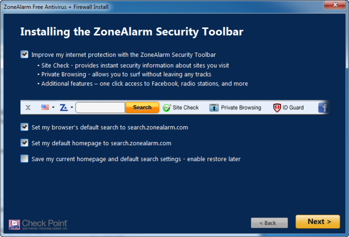 Screenshot 2 of ZoneAlarm Free Antivirus + Firewall 2017