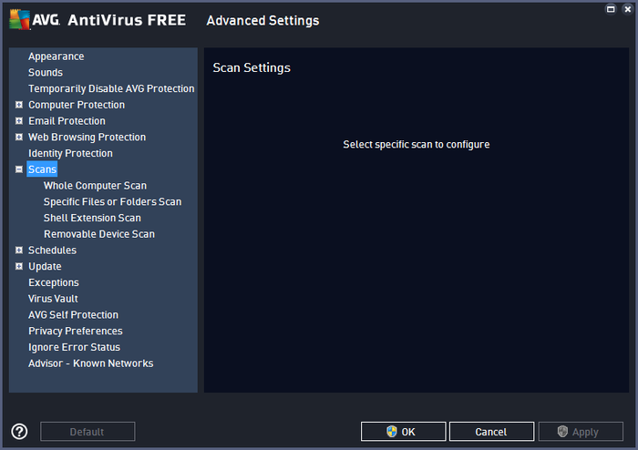 Screenshot 7 of AVG AntiVirus Free