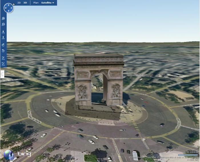 Download Bing Maps 3D (ex Virtual Earth 3D) free