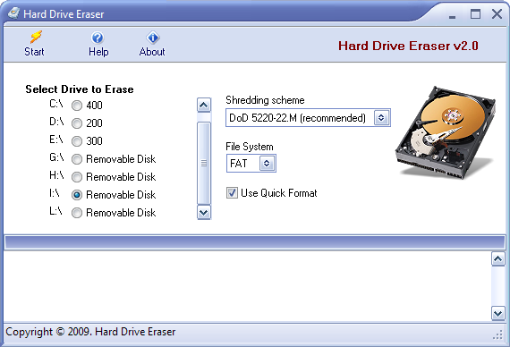 Screenshot 4 of Hard Drive Eraser