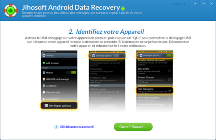 jihosoft android phone recovery gratuit