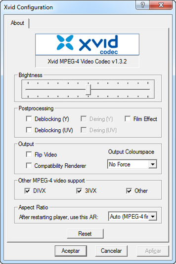 koepis xvid mpeg4 codec
