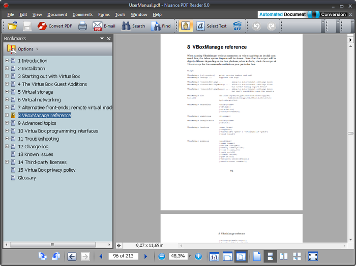 what is nuance pdf reader