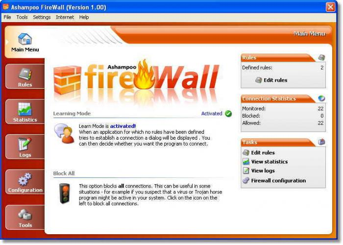 Screenshot 7 of Ashampoo Firewall