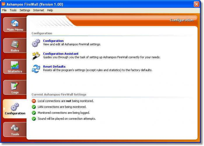 Screenshot 6 of Ashampoo Firewall
