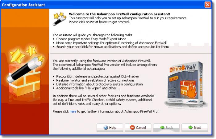 Screenshot 4 of Ashampoo Firewall