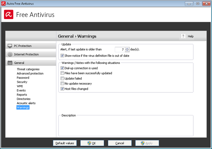 Screenshot 3 of Avira Free Antivirus