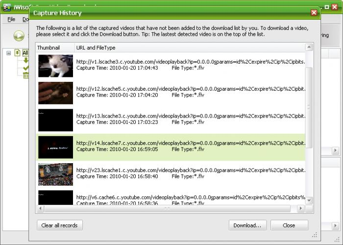 Free video downloader: download videos in a click.