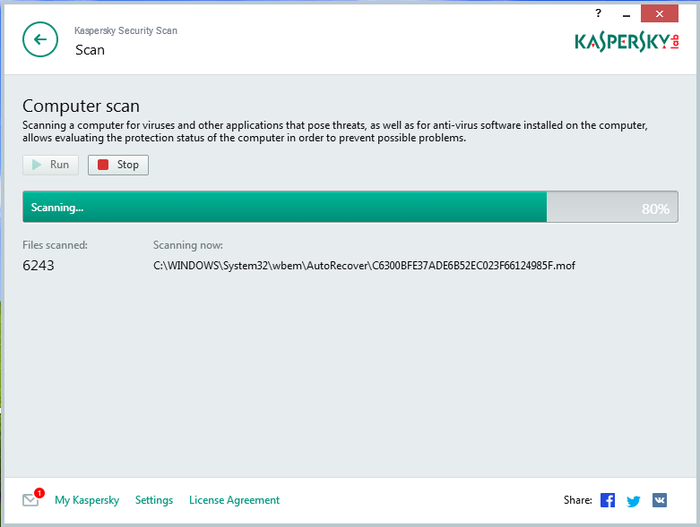 Screenshot 6 of Kaspersky Security Scan