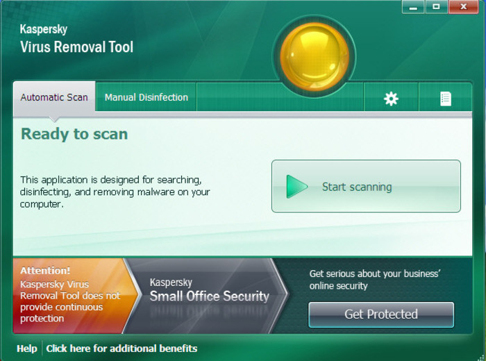 Screenshot 4 of Kaspersky Virus Removal Tool