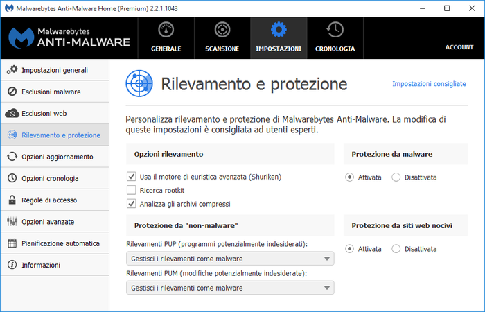 Screenshot 7 of Malwarebytes Anti-Malware