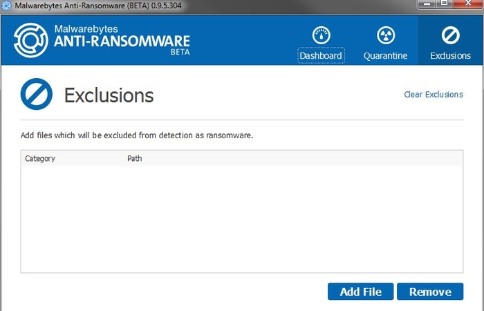 Screenshot 2 of Malwarebytes Anti-Ransomware