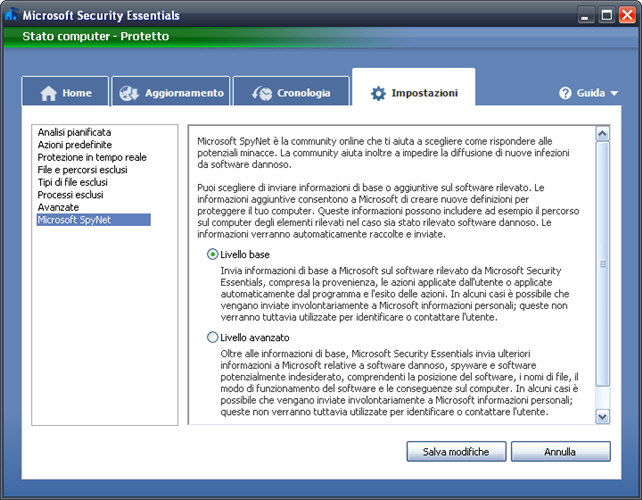 Screenshot 6 of Microsoft Security Essentials