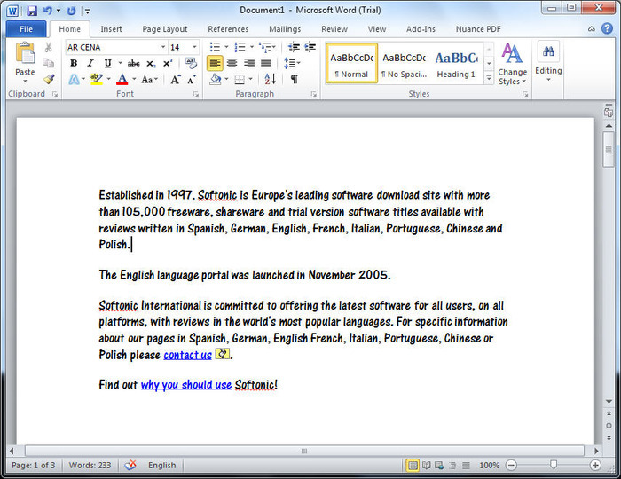 Download Microsoft Word free — NetworkIce com