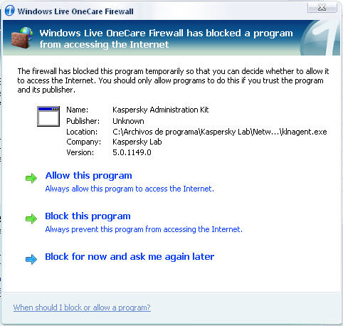 Screenshot 4 of Windows Live OneCare