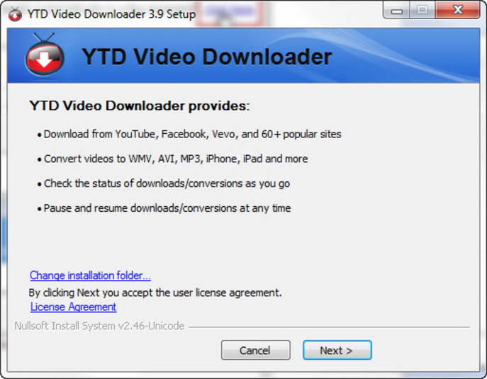 Download YTD Video Downloader free — NetworkIce com