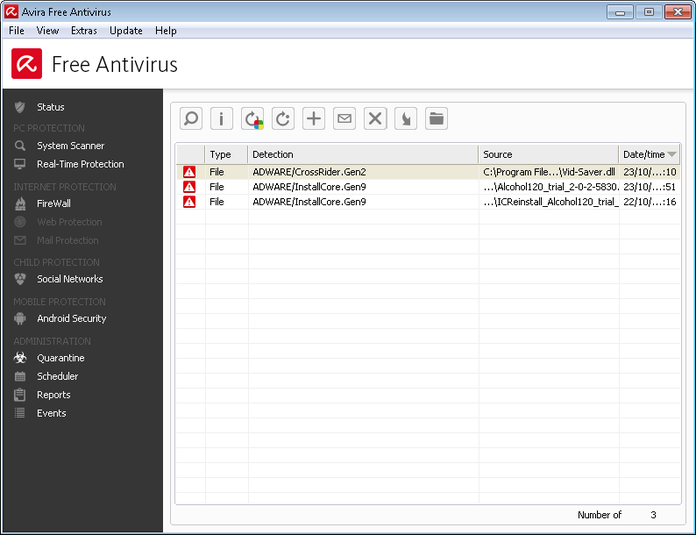 Screenshot 2 of Avira Free Antivirus