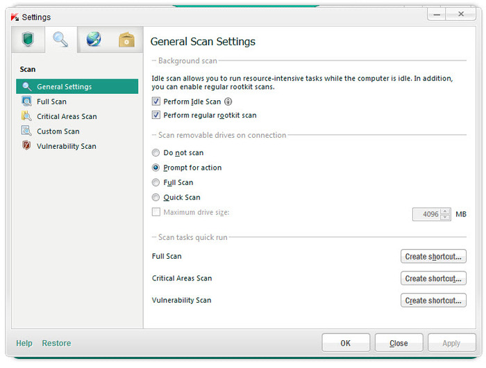 Screenshot 2 of Kaspersky Internet Security