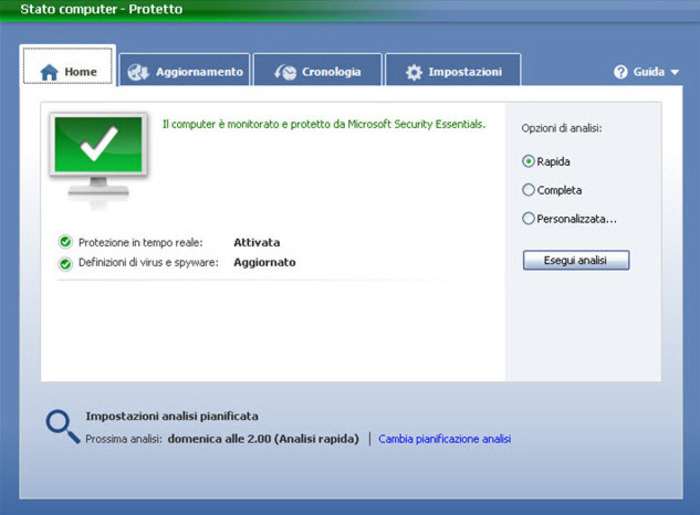 Microsoft security essentials download.