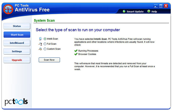 Screenshot 5 of PC Tools AntiVirus