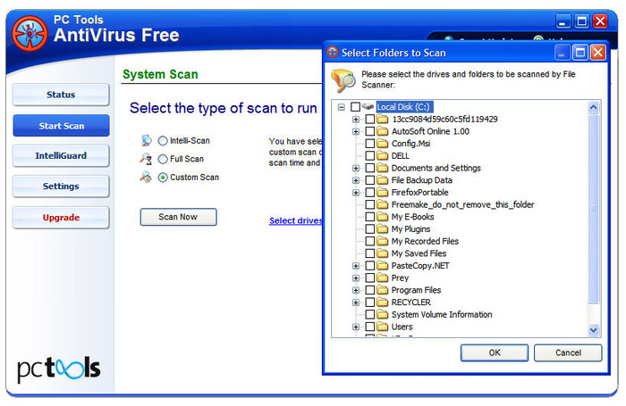 Screenshot 3 of PC Tools AntiVirus