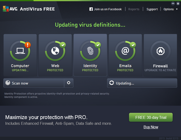 Screenshot 5 of AVG AntiVirus Free
