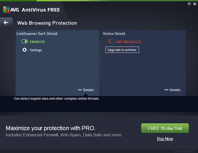 Screenshot 3 of AVG AntiVirus Free