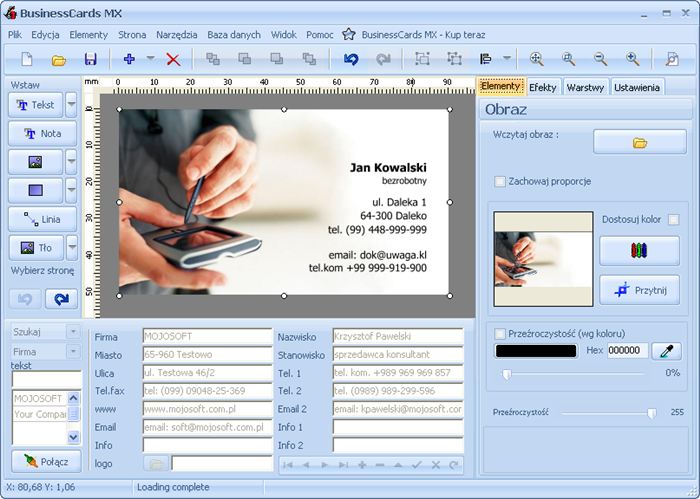 Download businesscards mx free networkice screenshot 2 of businesscards mx reheart Images
