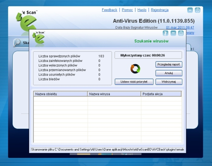 Free escan antivirus download 2011.