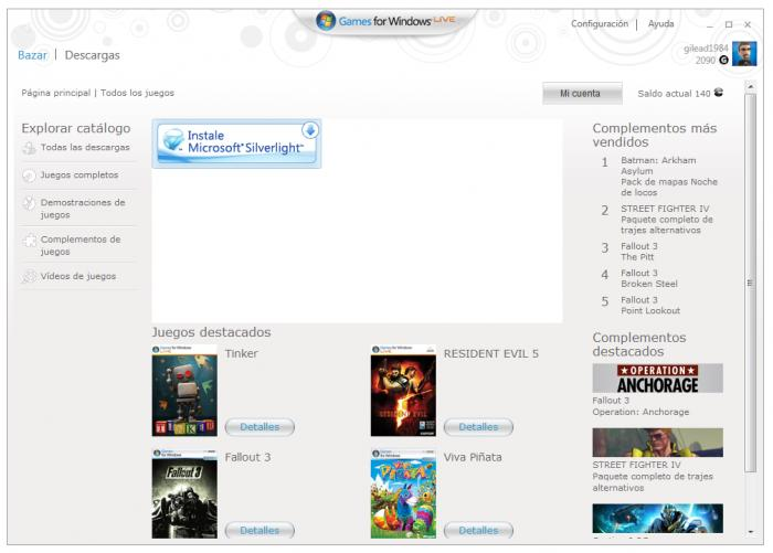 Games for windows live скачать.