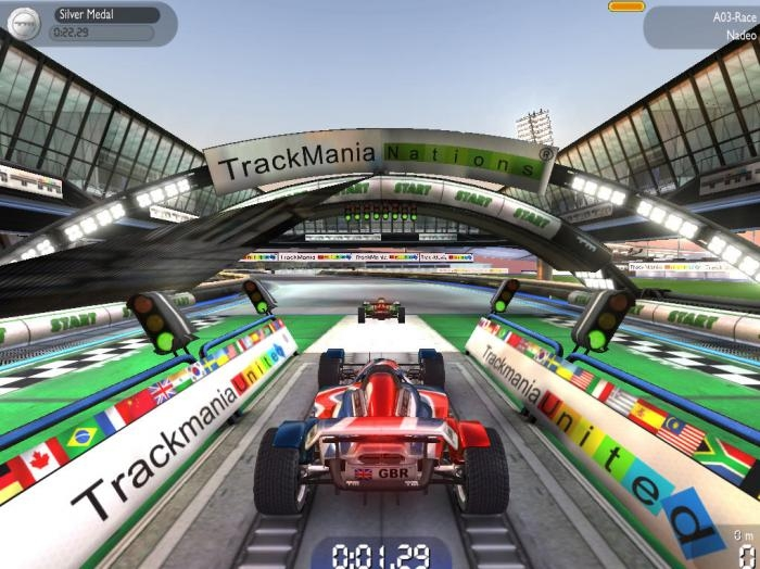 Trackmania forever nations free download.