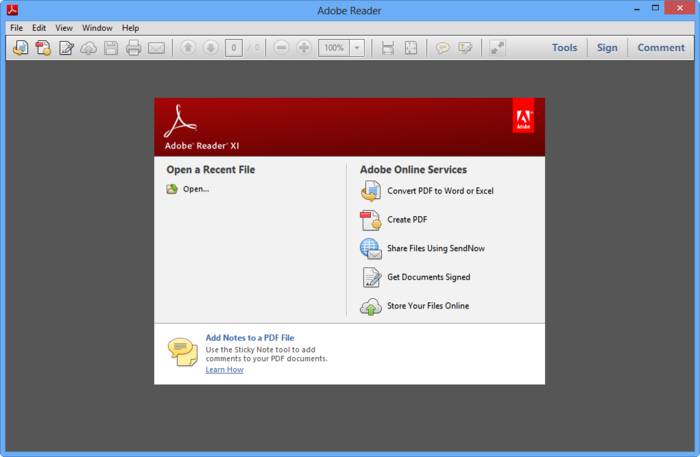 Screenshot 4 of Adobe Reader