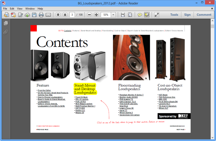 Screenshot 5 of Adobe Reader