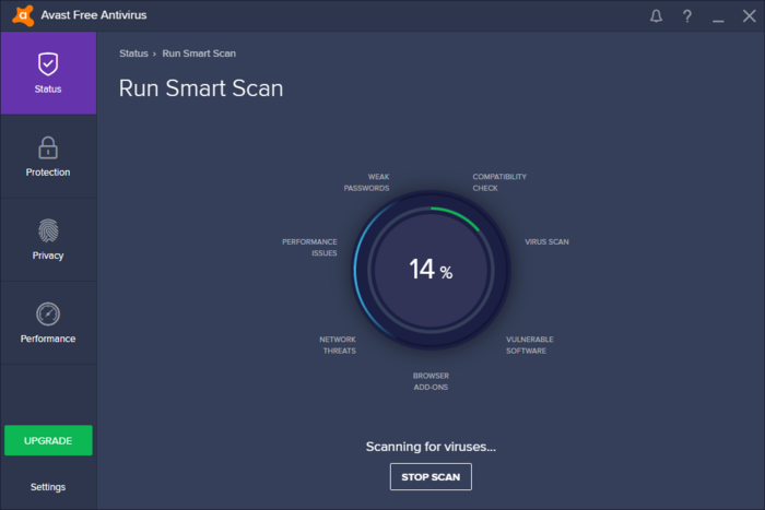Screenshot 1 of Avast Free Antivirus