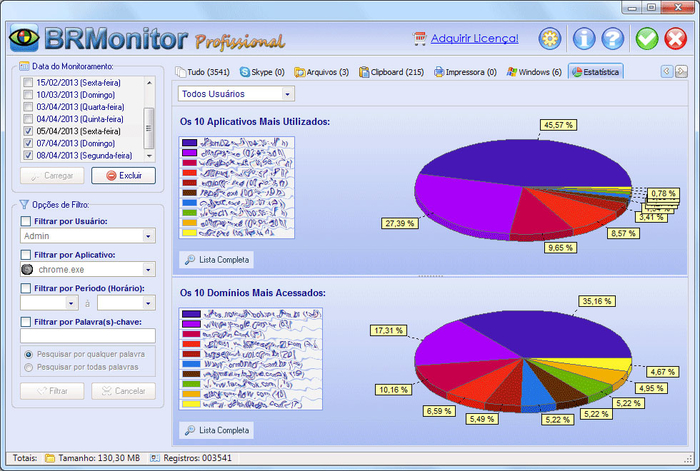 Screenshot 3 of BRMonitor