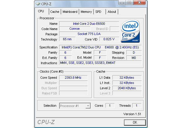 Download CPU-Z free — NetworkIce com