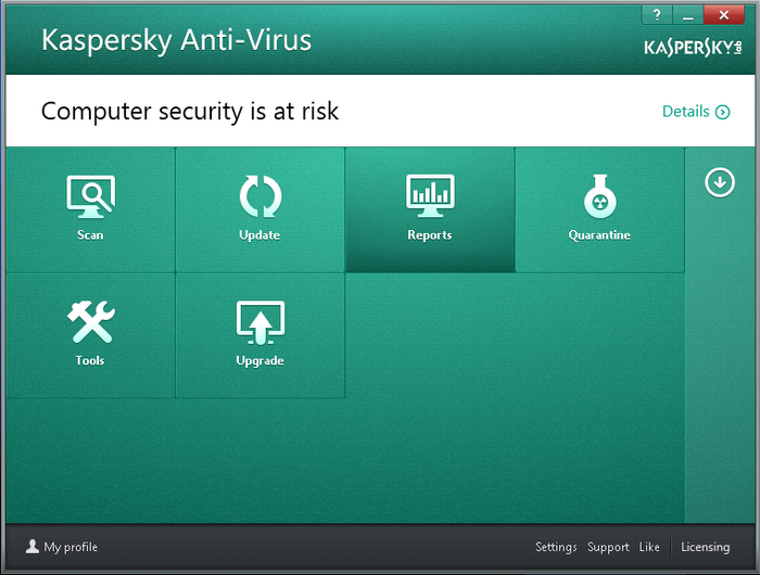 Screenshot 8 of Kaspersky Anti-Virus