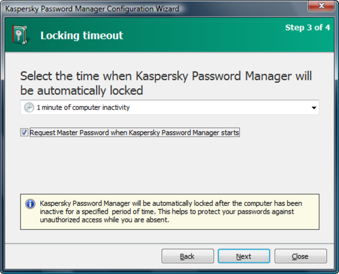 Screenshot 2 of Kaspersky Password Manager